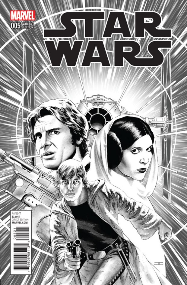 STAR WARS #5_BW Cover