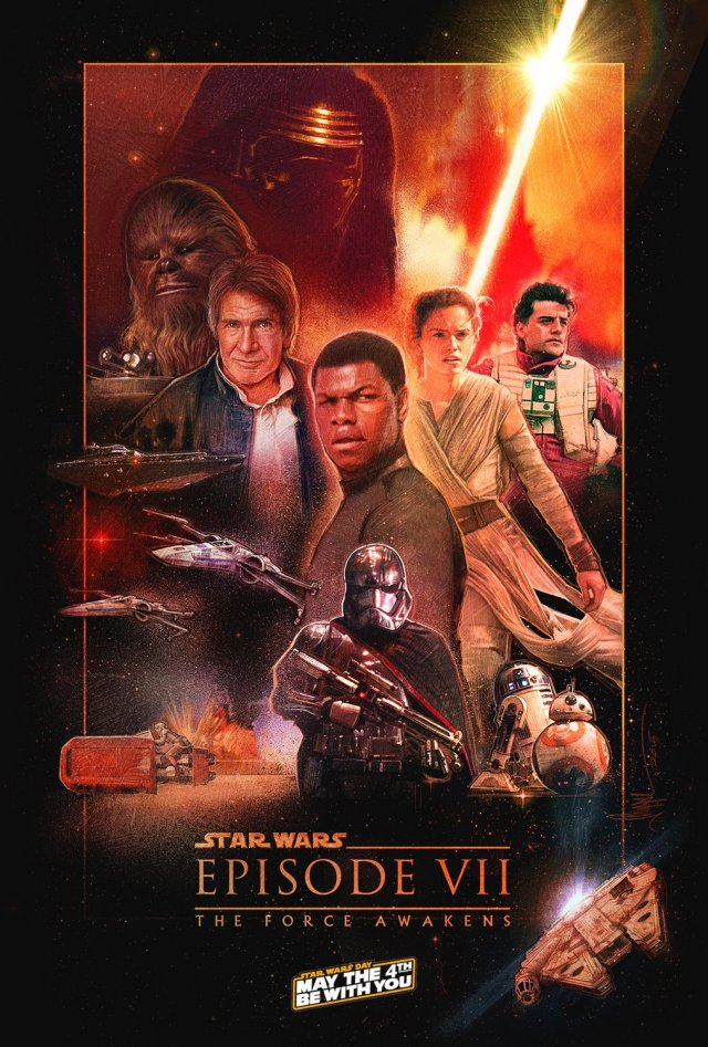 Star Wars_The Force Awakens_ by Paul Shipper