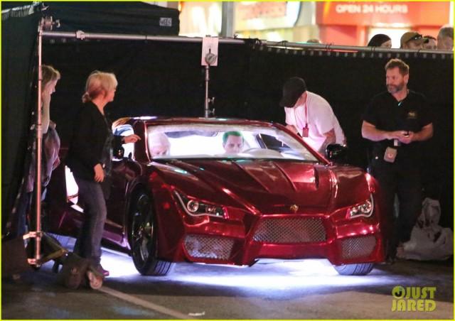 Suicide Squad_Set Photo_Joker's Lamborghini (1)