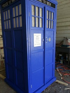TARDIS: owned by James Doster