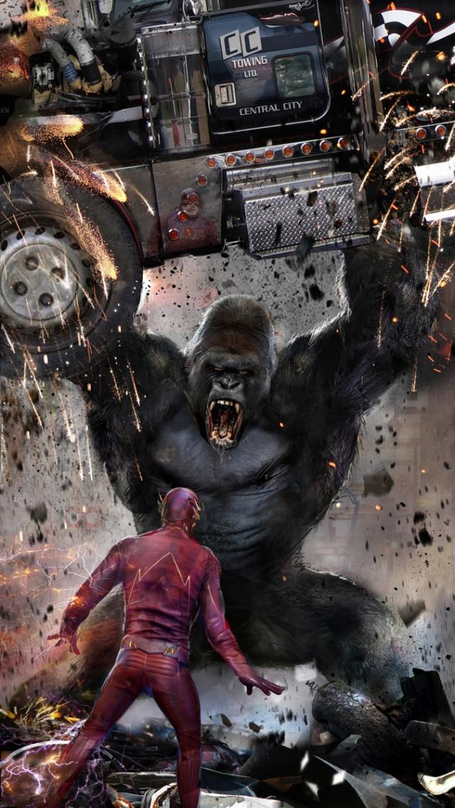 The Flash_Gorilla Grodd_Concept Art by John Gallagher2
