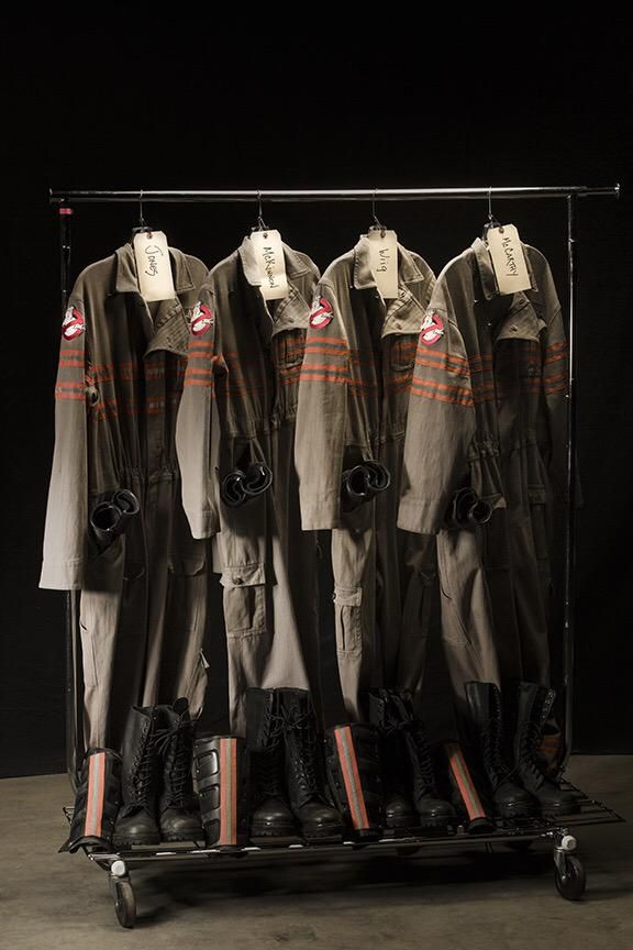 Ghostbusters_New Uniforms