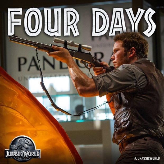 Jurassic World_Four Days