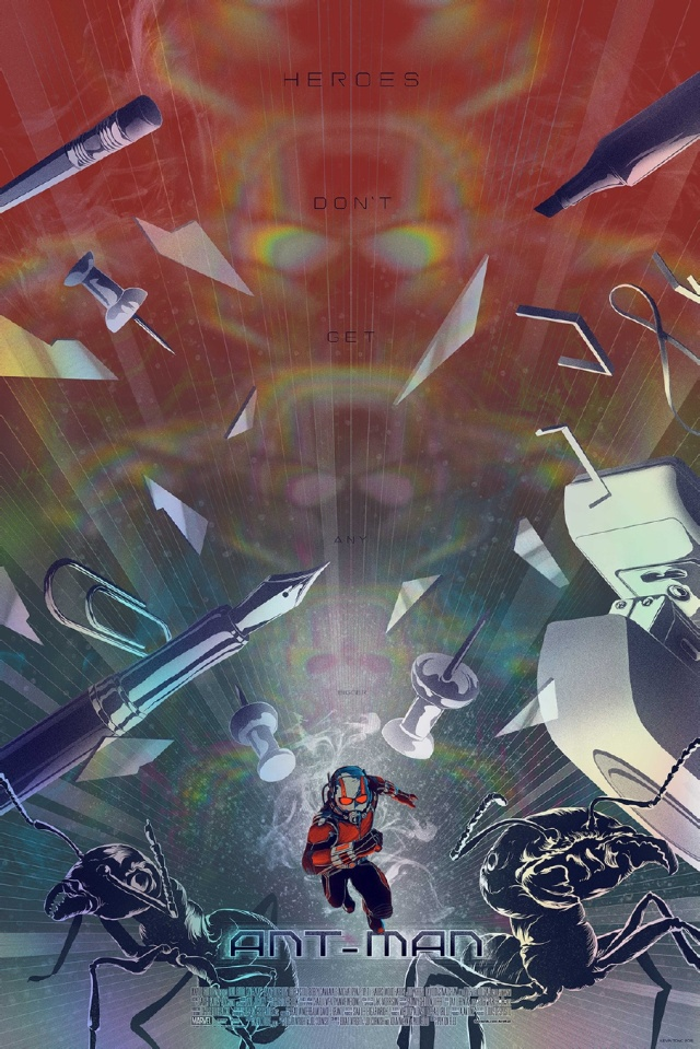 Mondo SDCC Exclusive_Ant-Man Poster