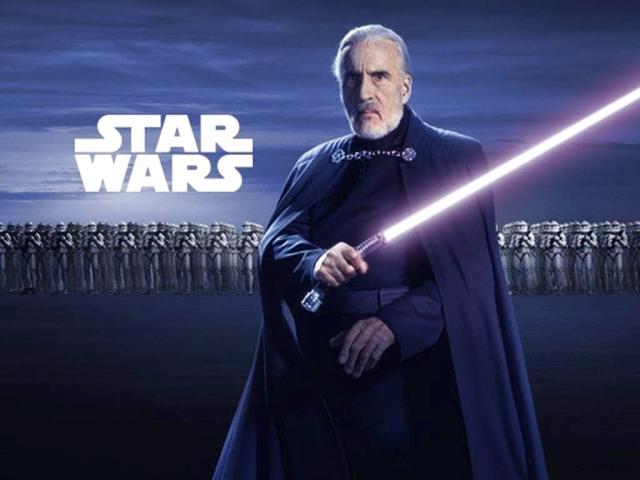 Star Wars Prequel_Count Dooku_Sir Chrisopher Lee