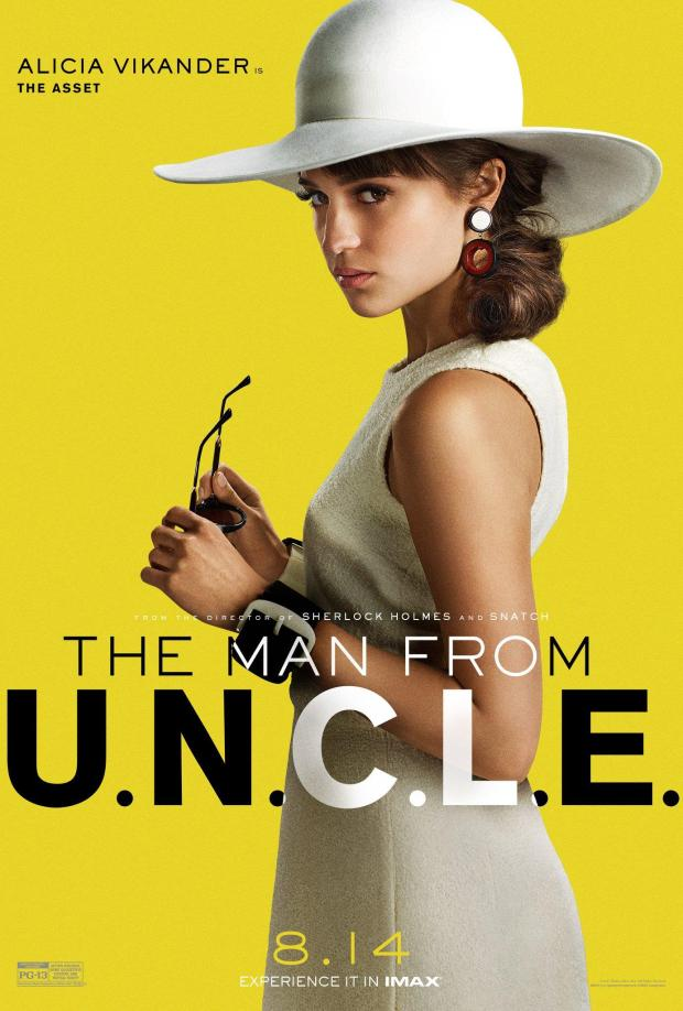 The Man from U.N.C.L.E._Character Poster_Alicia Vikander