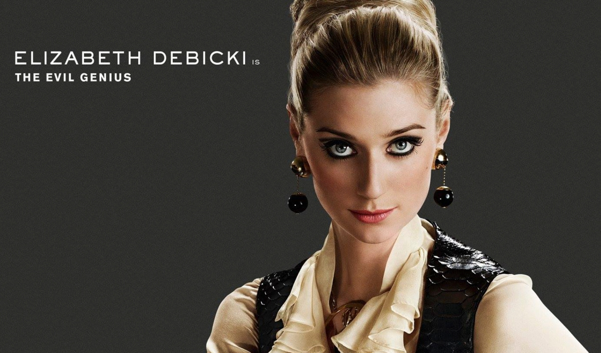 Elizabeth Debicki Is The Evil Genius In New Character