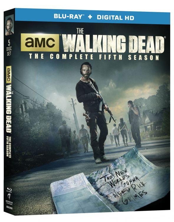 The Walking Dead_Season 5_BluRay