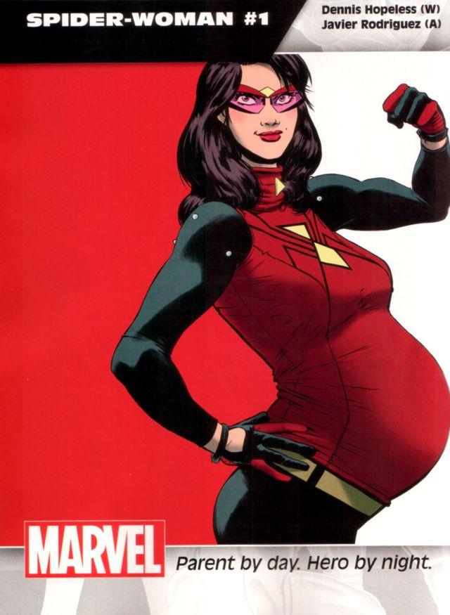 Spider-Woman #1 W: Dennis Hopeless A: Javier Rodriguez