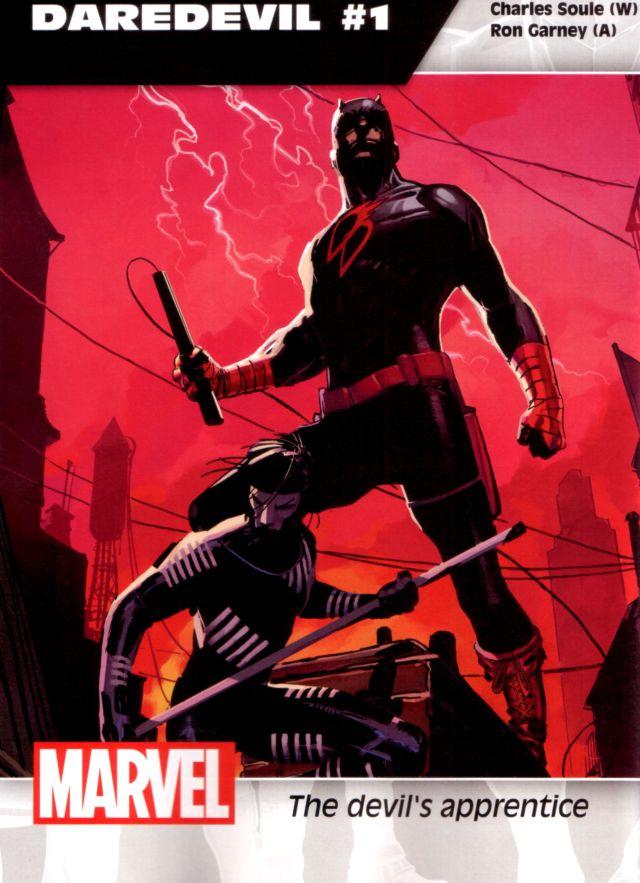 Daredevil #1 W: Charles Soule A: Ron Garney