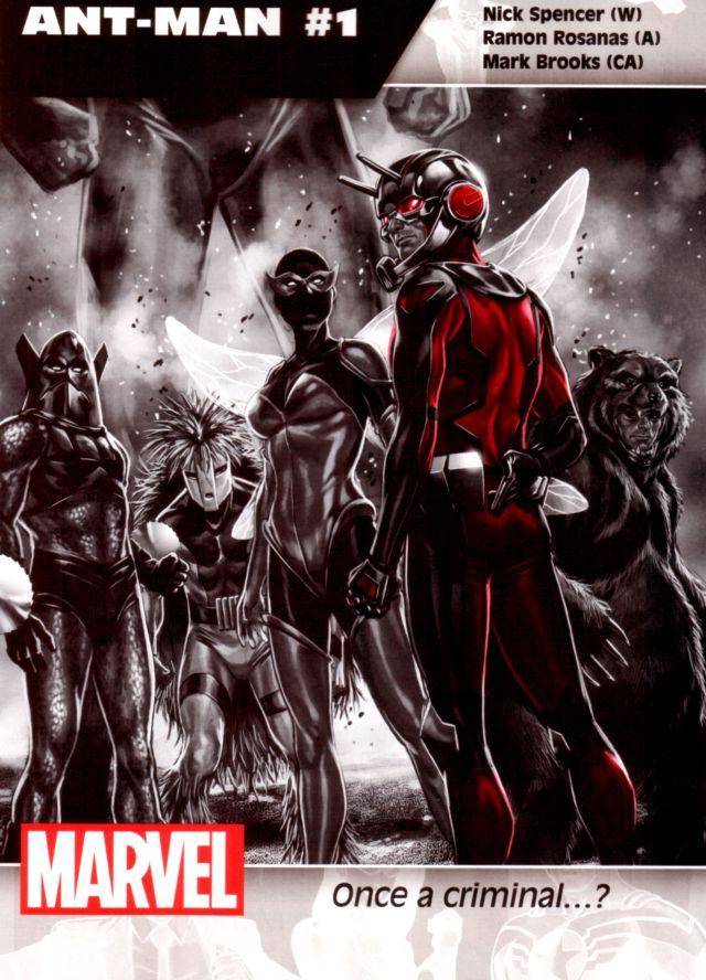 Ant-Man #1 W: Nick Spencer A: Ramon Rosanas CA: Mark Brooks
