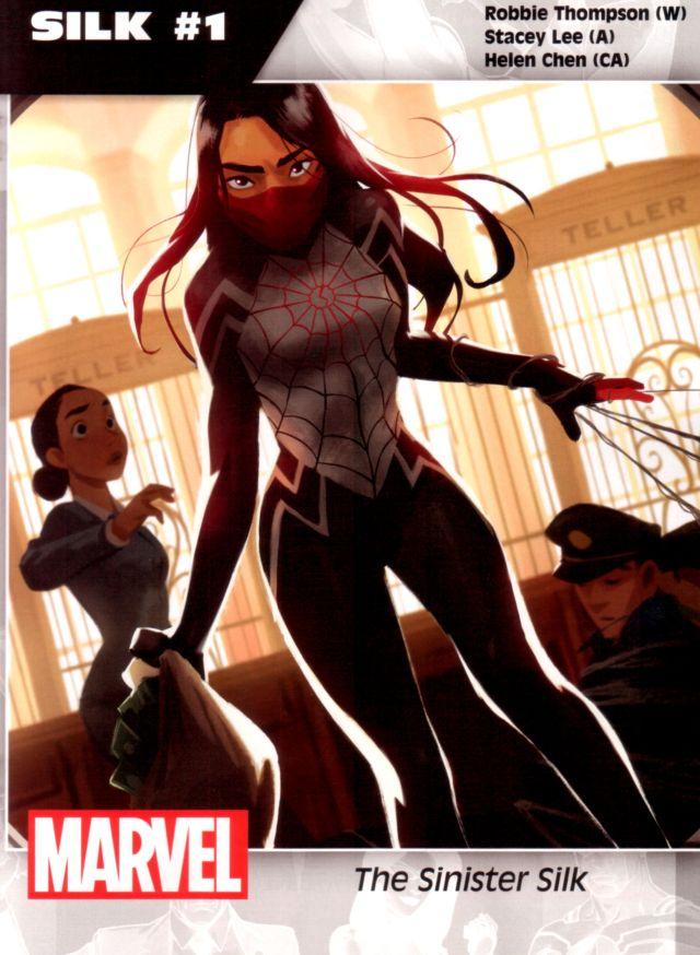 Silk #1 W: Robbie Thompson A: Stacey Lee CA: Helen Chen