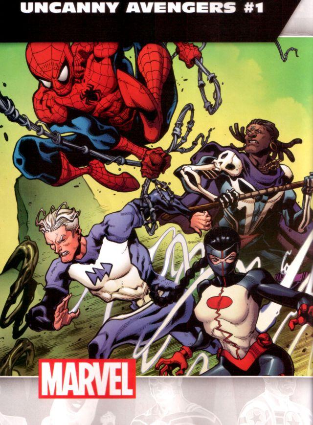 Uncanny Avengers #1 W: Gerry Duggan A: Ryan Stegman