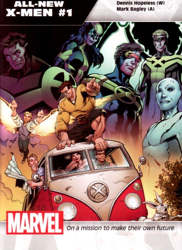 All-New X-Men W: Dennis Hopeless A: Mark Bagley