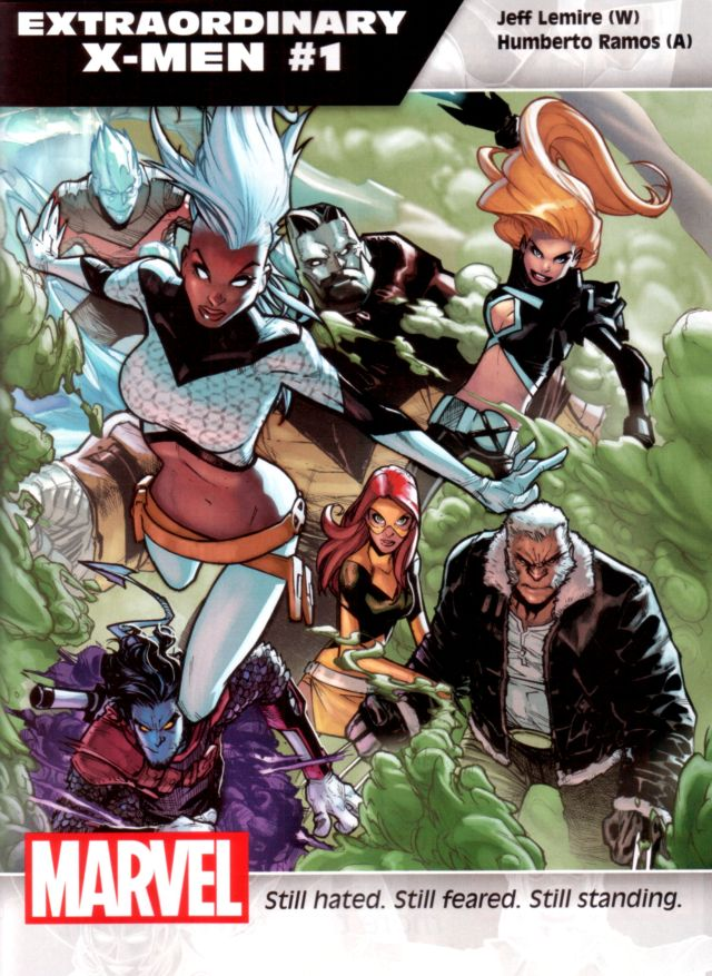 Extraordinary X-Men #1 W: Jeff Lemire A: Humberto Ramos