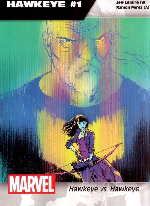 Hawkeye #1 W: Jeff Lemire A: Ramon Perez