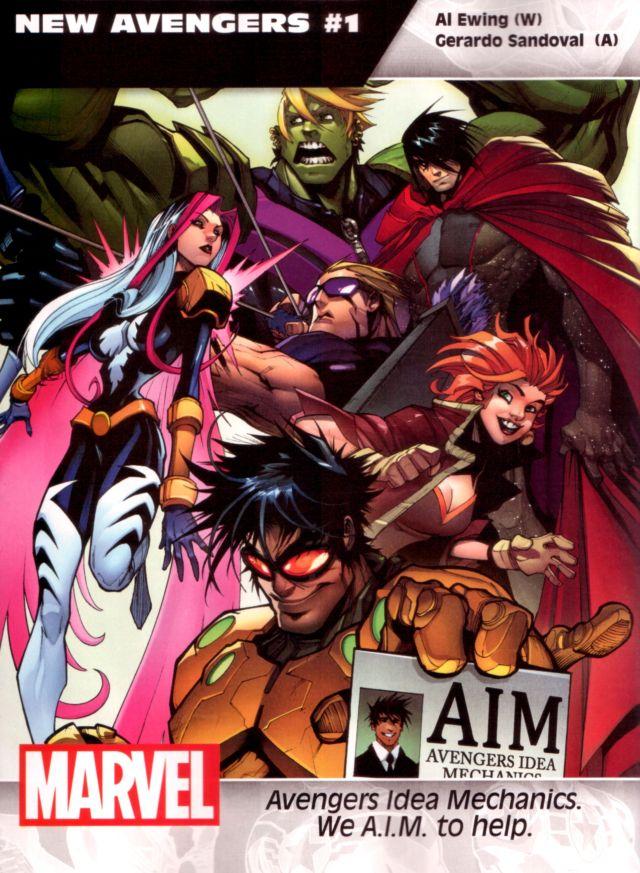 New Avengers #1 W: Al Ewing A: Gerardo Sandoval