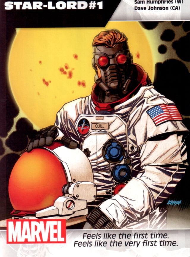 Star-Lord #1 W: Sam Humphries A: Dave Johnson