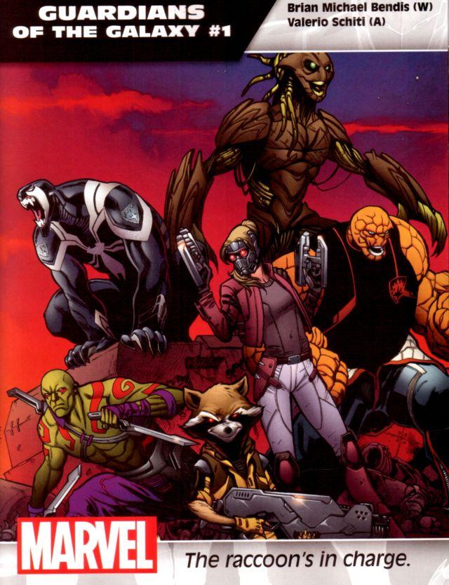 Guardians of the Galaxy #1 W: Brian Michael Bendis A: Valerio Schiti
