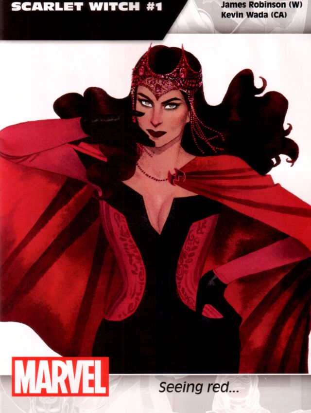 Scarlet Witch #1 W: James Robinson A: Kevin Wada