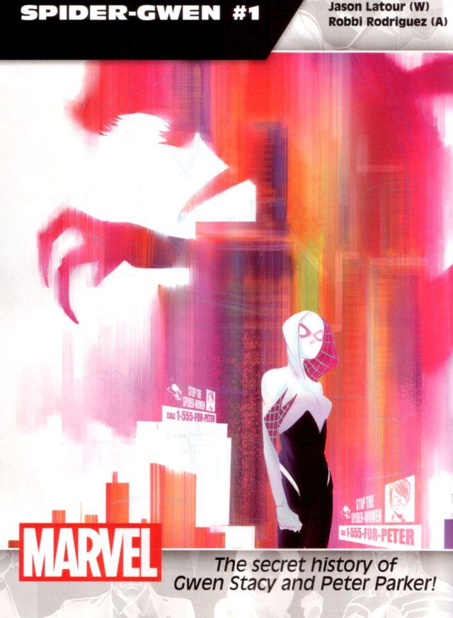 Spider-Gwen #1 W: Jason Latour A: Robbi Rodriguez