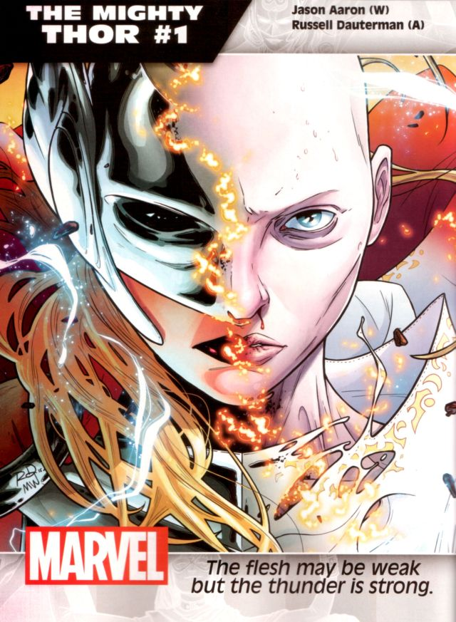 The Mighty Thor #1 W: Jason Aaron A: Russell Dauterman
