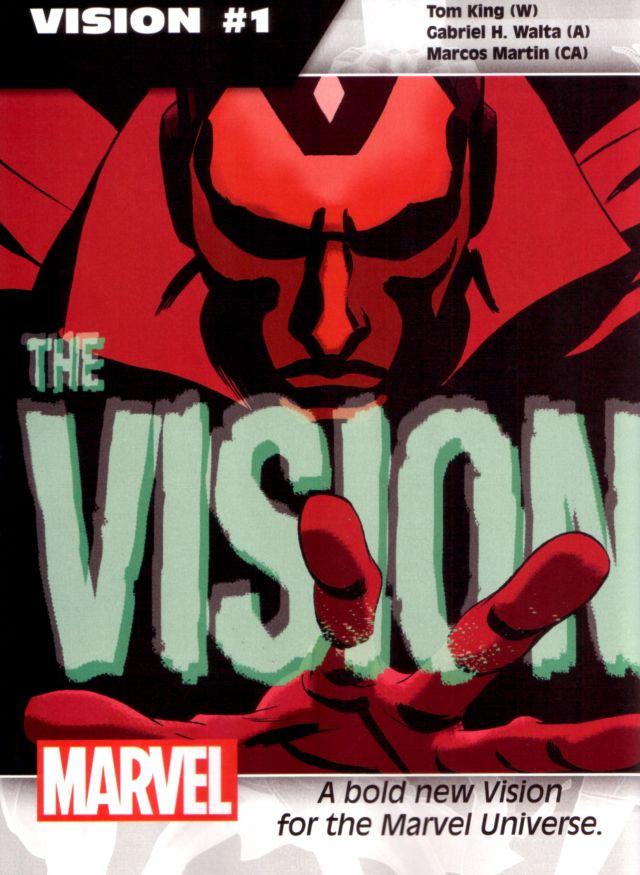 The Vision #1 W: Tom King A: Gabriel H. Walta CA: Marcos Martin