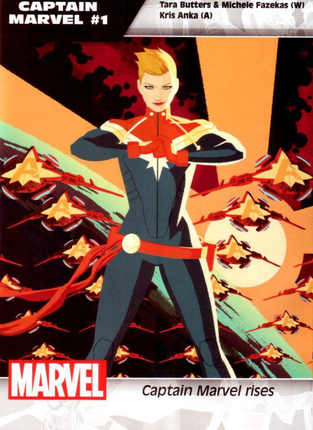 Captain Marvel #1 W: Tara Butters & Michele Fazekas A: Kris Anka