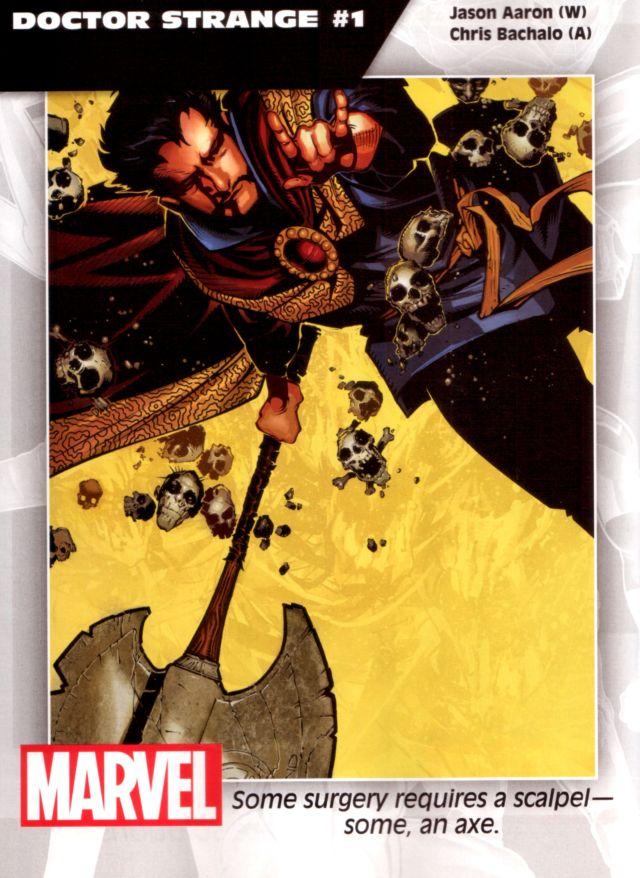 Doctor Strange #1 W: Jason Aaron A: Chris Bachal