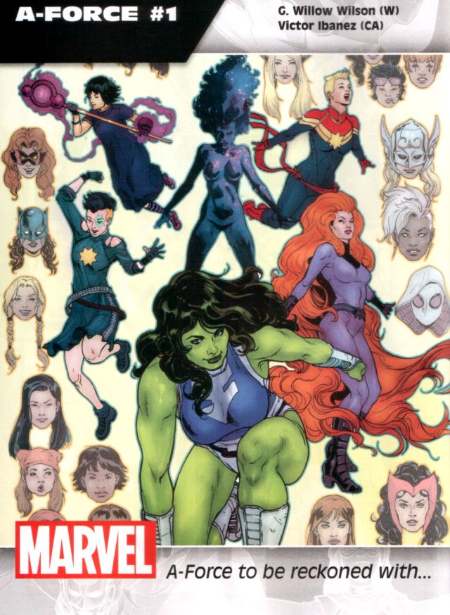 A-Force #1 W: G. Willow Wilson CA: Victor Ibanez