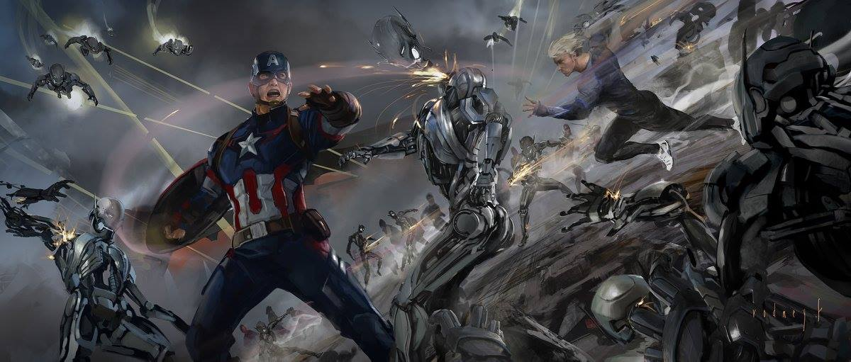 Avengers Age Of Ultron Concept Art By Rodney Fuentebella