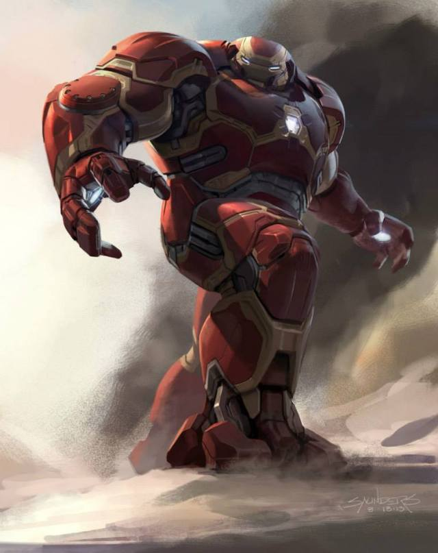 Avengers_Age of Ultron_Hulkbuster Concept Art by Phil Saunders (1)