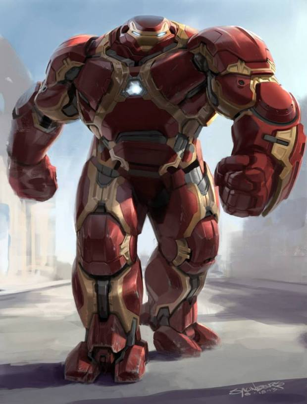 Avengers_Age of Ultron_Hulkbuster Concept Art by Phil Saunders (2)