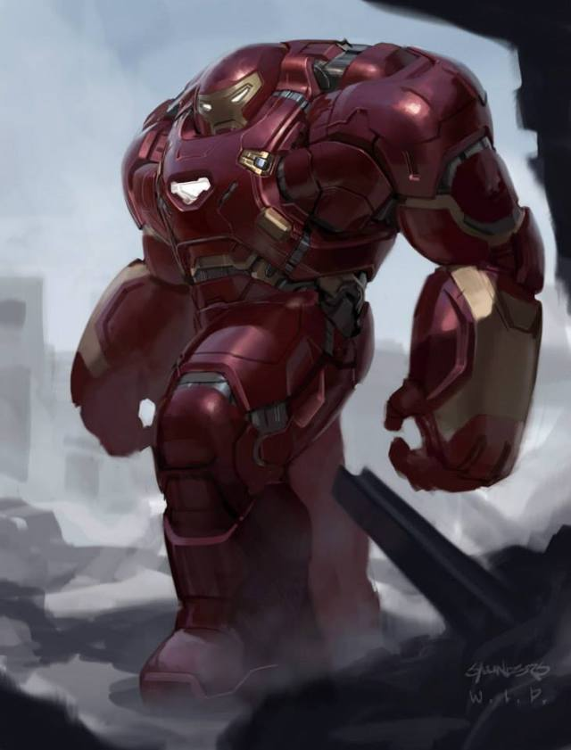 Concept Art Hulkbuster Concept Art by Phil