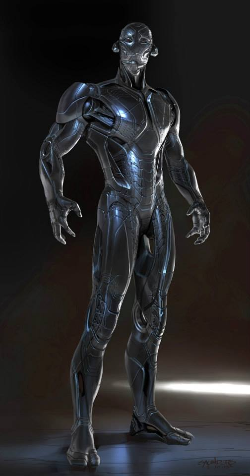 Avengers_Age of Ultron_Ultron Concept Art by Phil Saunders (2)