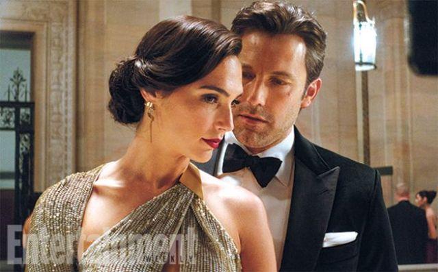 BatmanvSuperman_EW_Ben Affleck and Gal Gadot