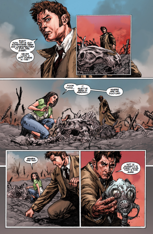 Doctor Who_The Tenth Doctor Vol.2 The Weeping Angels Of Mons_3