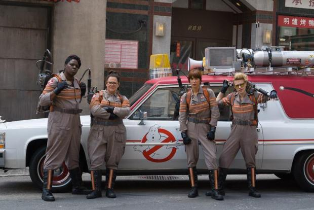 Ghostbusters_Set Photo
