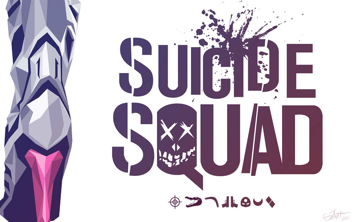 Geek Art Harley Suicide Squad By Simon Delart We