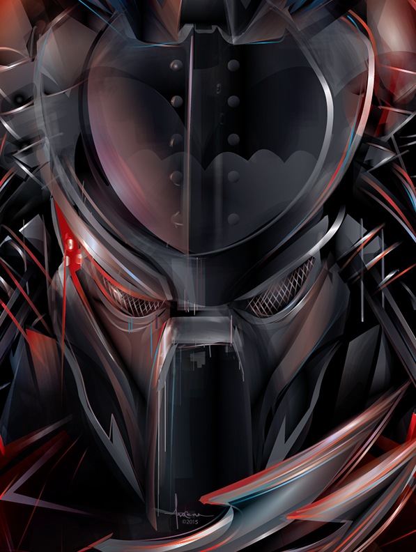 KNIGHT_HUNT_Predator-darkknight_vector_orlando_arocena_2015_Predator