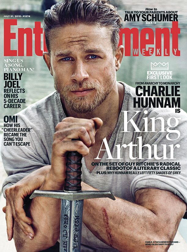Knights of the Round Table_King Arthur_EW Cover_Charlie Hunnam