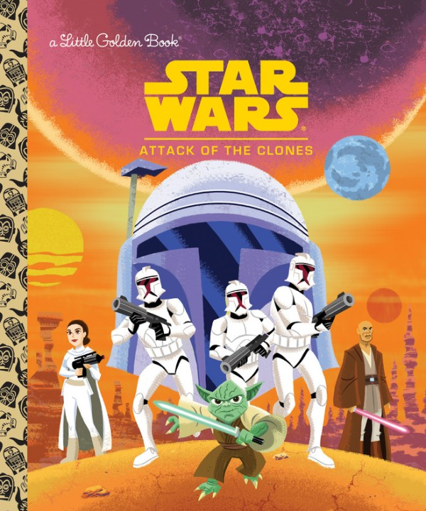 Little Golden Books_Star Wars_Attack of the Clones