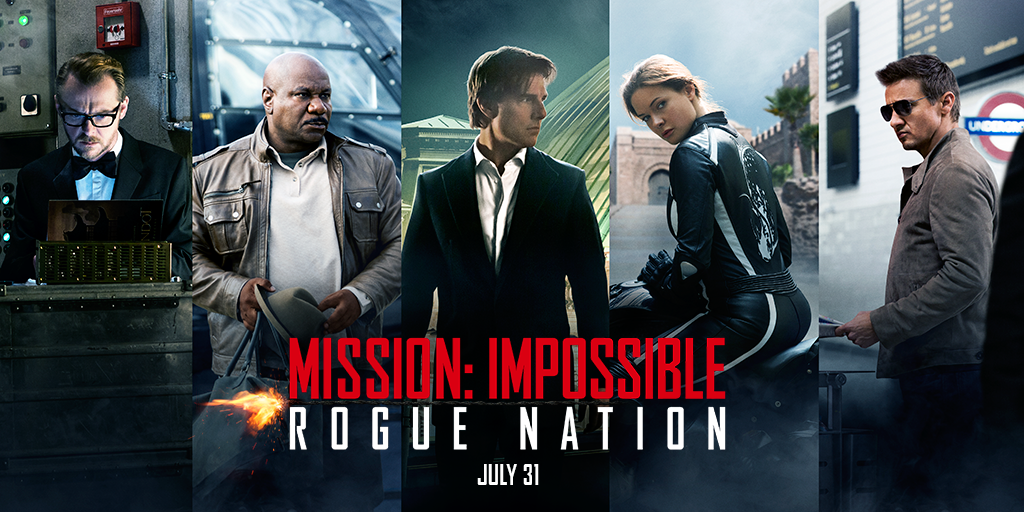 Mission Impossible Rogue Nation Cast And Crew