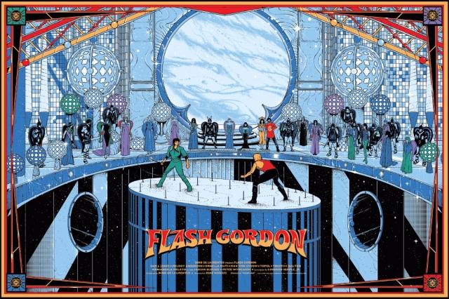Mondo_Flash Gordon by Kilian Eng