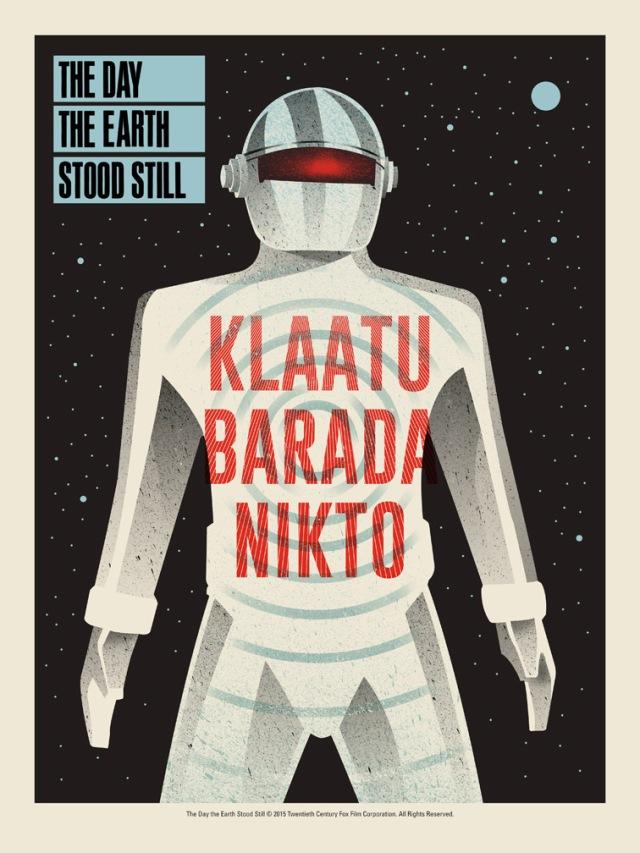 Mondo_The Day the Earth Stood Still by Methane Studios