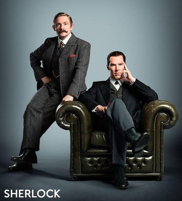 Sherlock_Series 4_Benedict and Martin