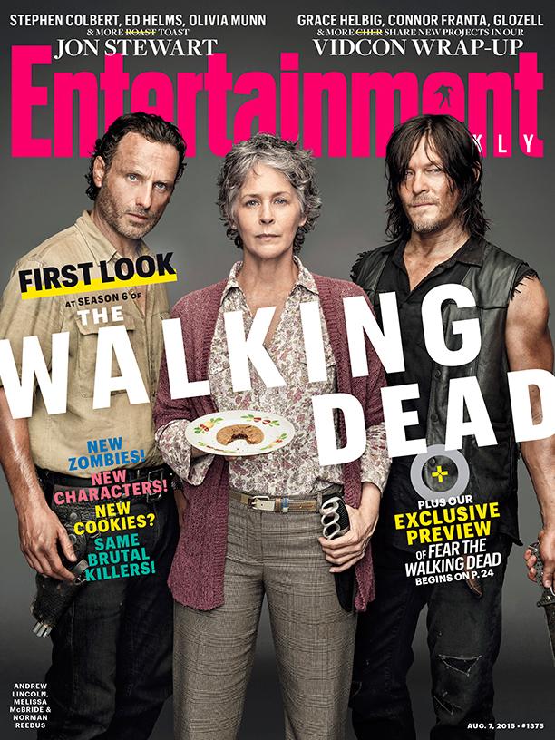 The Walking Dead_EW Cover