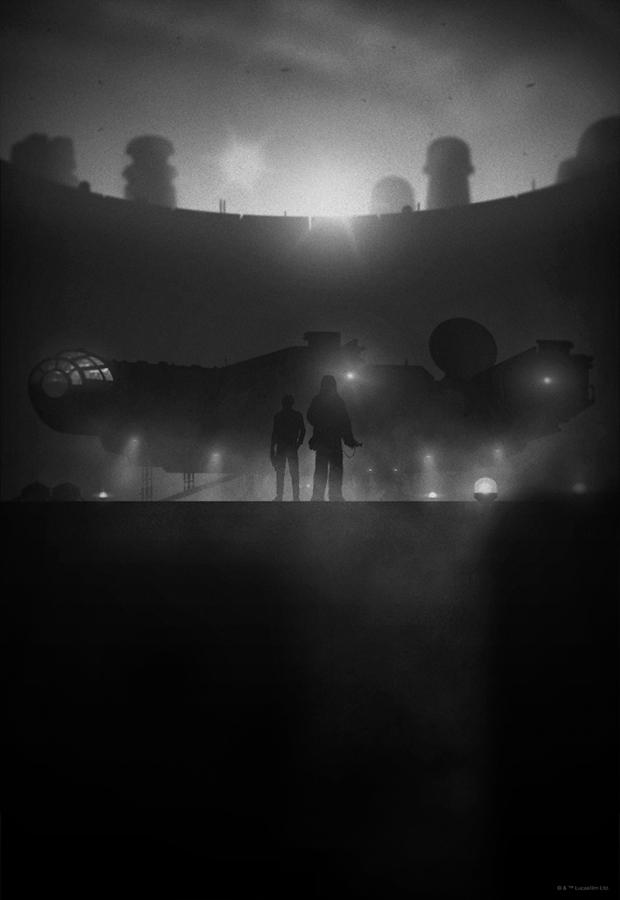 %22Smugglers%22 Noir Variant by Marko Manev
