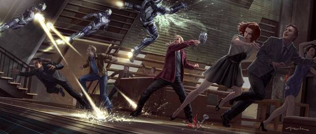 Avengers_Age of Ultron_Concept Art by Andy Park (6)