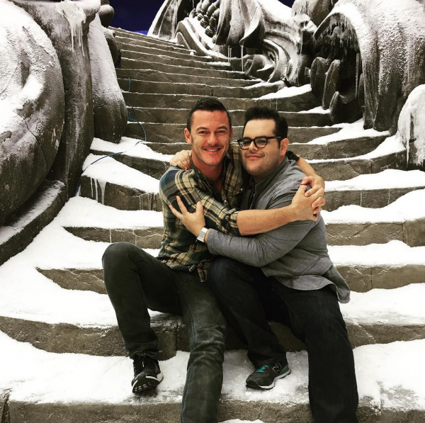 Beauty and the Beast_Josh Gad and Luke Evans
